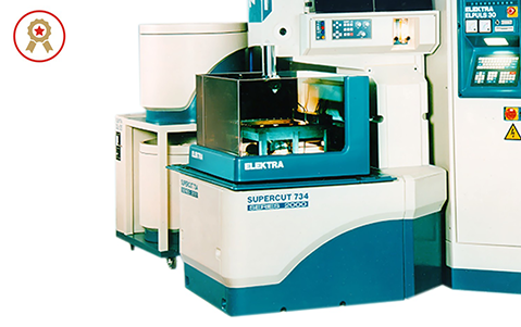An ergonomic, modular CNC wirecut machine.